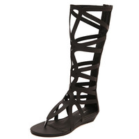 Gladiator Knee High Sandals