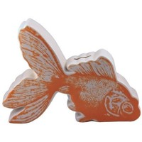 Pictorial Goldfish - Coin Bank
