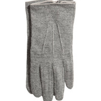 Woolen Gloves - from H&M