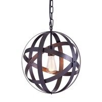 Plymouth Ceiling Lamp Rust