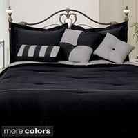 Twin, Black Comforter Sets | Overstock.com: Buy Fashion Bedding Online
