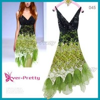 Ever-Pretty Flowing Green Lace Cocktail Dress | Ever-Pretty