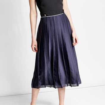 Pleated Midi Dress - Victoria, Victoria Beckham | WOMEN | US STYLEBOP.COM