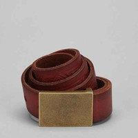 Embossed Leather Belt- Light Brown