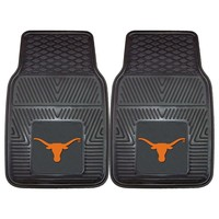 Fanmats 2-pk. Texas Longhorns Car Floor Mats (Gray)
