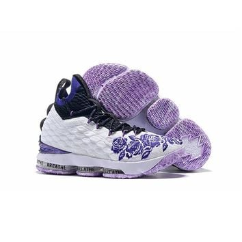 "Nike LeBron 15 ""Purple Rain"" Sneakers - Best Deal Online"