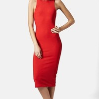 Women's Topshop Ribbed Tank Dress,