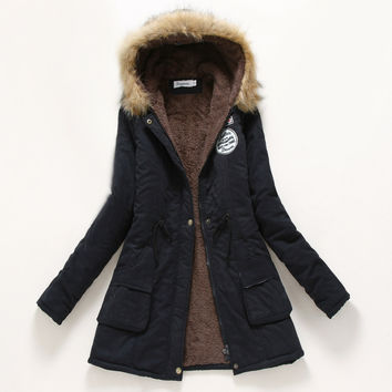 Winter coat Parka Military Jacket