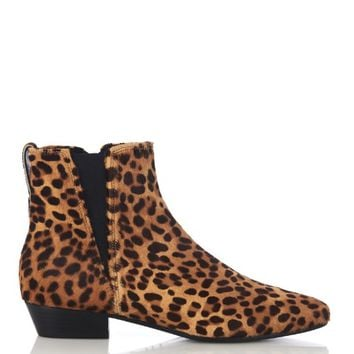 Patsha leopard calf-hair chelsea boots | Isabel Marant | MATCHESFASHION.COM US