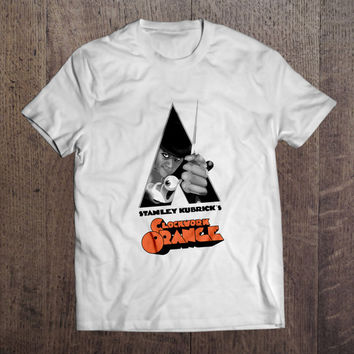 Clockwork Orange Men Women T-Shirt Stanley Kubrick Movie Birthday Gift Present