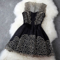 Nice Embroidery Dress &Party Dress-Fashion Shopping Mall