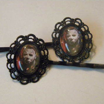 Mike Myers Halloween bobby pins