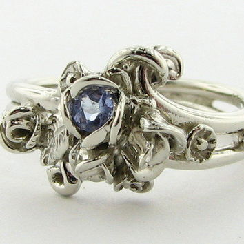 Wexford Jewelers | our passion is design >> Gathering Roses, Tanzanite and White Gold