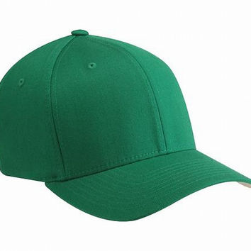 Green Hard Cotton Baseball Cap