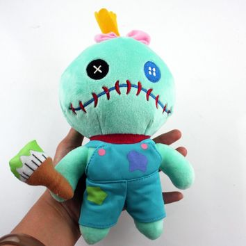 Lilo Stitch Green Scrump Plush