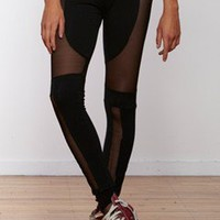 sheer bones leggings black/black - FEDERATION STORE