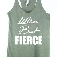 Little But Fierce Gym Tank Top