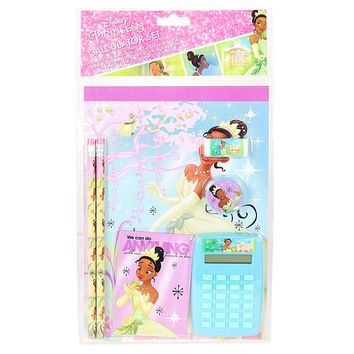 Disney Princess Tiana School Stationery Set For Girls