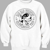 Bad Bad Whiskey Logo Sweater for Mens Sweater and Womens Sweater *