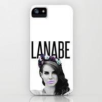 Lana Lanabe Del Rey iPhone & iPod Case by Rachel Additon