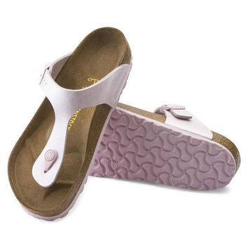 Sale Birkenstock Gizeh Birko Flor Graceful Rosa 745641 Sandals