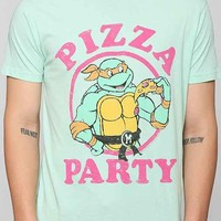 Junk Food Ninja Turtles Pizza Party Tee- Green