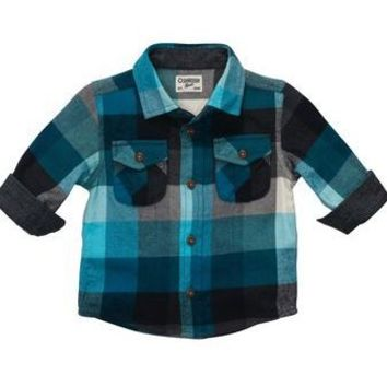 Plaid Flannel Shirt | Baby Boy The Flannel Channel