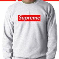 Supreme sweatshirt jumper sweater