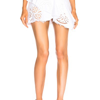 Isabel Marant Relden Skirt in White | FWRD