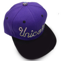 Unicorn Snapback Purple