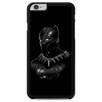 Black Panther Wallpaper With Blue Eyes iPhone 6 Plus / 6S Plus Case