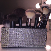 Glamorous Makeup Brushes Holder