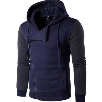 Men's Fashion Winter Hot Sale Stylish Casual Slim Hoodies [10669404547]