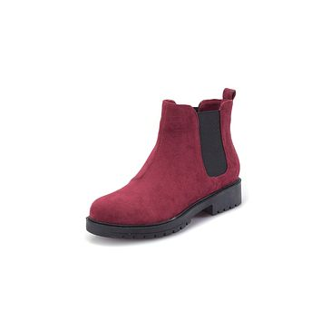 Fall Winter Ankle Chelsea Boots Women Shoes 5062