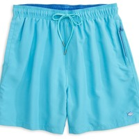 Solid Swim Trunks in Turquoise Blue by Southern Tide