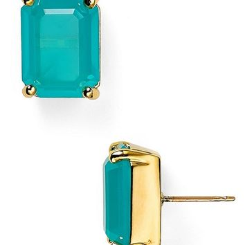 kate spade new york Emerald Cut Studs