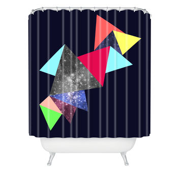 Ceren Kilic Surface 1 Shower Curtain