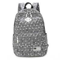 Cute Ethnic Printed Backpack School Bag Travel Daypack