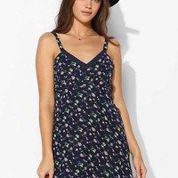 Lucca Couture Bianca Floral Chiffon Tank Dress-