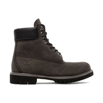 "Timberland 6"" Nubuck in Charcoal"