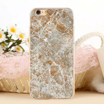 Break-up Marble Stone Protect iPhone 5s 6 6s Plus Case + Gift Box-131