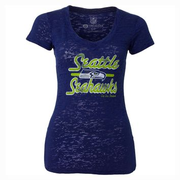 Seattle Seahawks Women's Signal Burnout T-Shirt