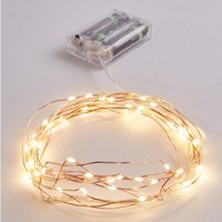 Clear Vintage Wire Warm Lights