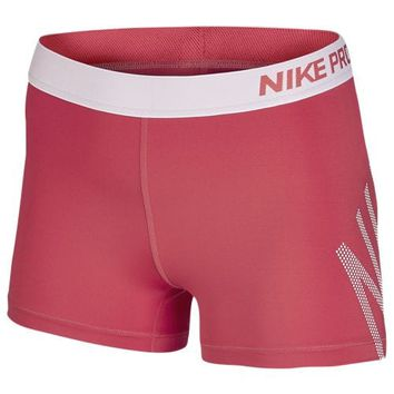 "Nike Pro 3"" Cool Logo Shorts - Women's at Lady Foot Locker"