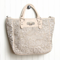 savoir faire crochet tote bag - $59.99 : ShopRuche.com, Vintage Inspired Clothing, Affordable Clothes, Eco friendly Fashion