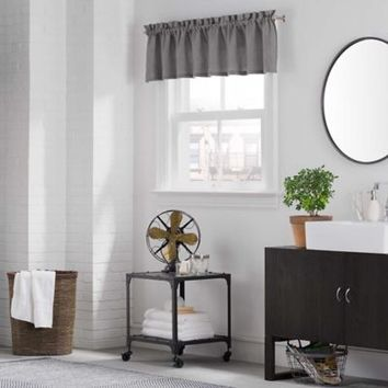 Kenneth Cole Reaction Home Mineral Tailored Valance