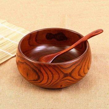 DCCKWJ7 High Quality Camphor Wood Soap Bowl Fashion New Natural Healthy Wooden Rice Bowl Food Fruit Dish