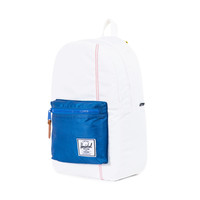 Herschel Supply Co.: Settlement Backpack - White / Regatta Blue / Cardial Yellow (Studio)