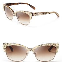 kate spade new york Shira Cat Eye Sunglasses