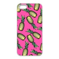 Pineapple Pattern Hard Protective Back Cover Case for iPhone 5 5s